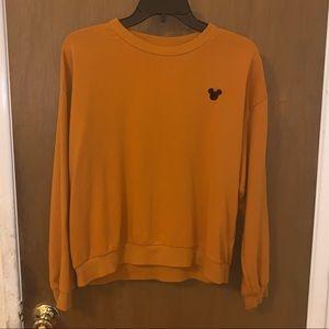 Mustard Yellow Disney Sweatshirt